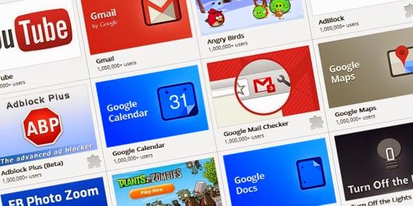 الملحقات الضرورية التي يستوجب على المستخدم تحميلها في جوجل كروم